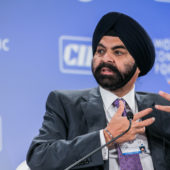 MasterCard CEO Ajay Banga on Taking Risks in Your Life and Caree