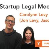 Carolynn Levy And Panel (Jon Levy, Jason Kwon) – Startup Legal Mechanics