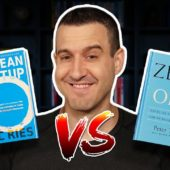 Which book is best for startups? The Lean Startup vs. Zero To One